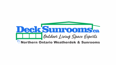 Decksunrooms.ca Logo Design, website design, newspaper advertising, print collateral.