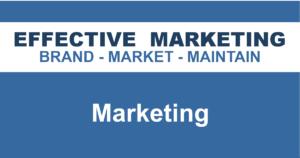 Marketing North Bay Ontario, EFFECTIVE MARKETING